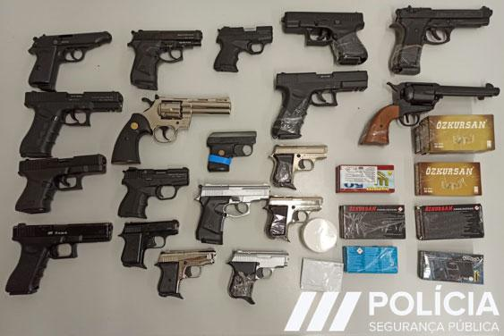 1 776 firearms seized in international sweep against illegal trafficking of Turkish manufactured weapons