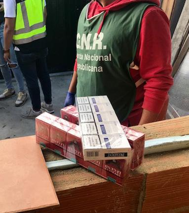 Tobacco products worth more than € 2 million seized in Spain and Portugal