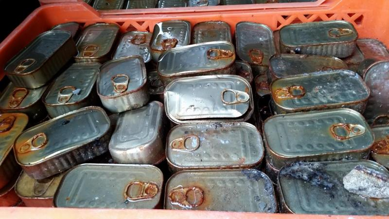 15 000 tonnes of illegal food and beverages off the market