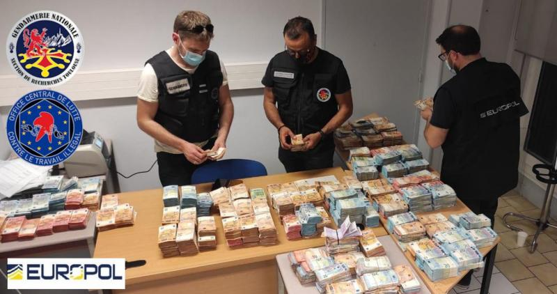 Six arrested for siphoning €12 million in fraudulent COVID-19 unemployment payments from France