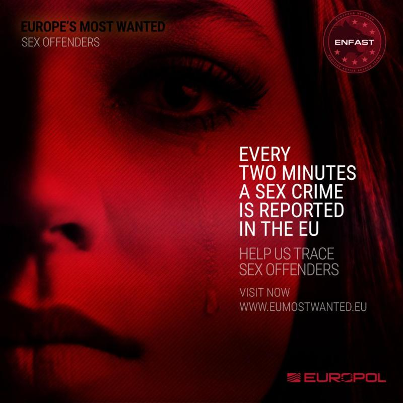 Some of Europe's most dangerous sex offenders in the spotlight