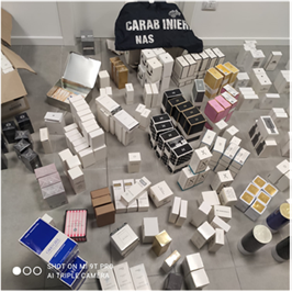Fake perfumes assembly site dismantled in Italy