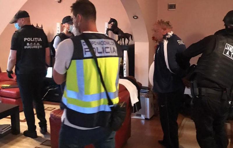 Twenty-five victims of sexual exploitation identified in Romania and Spain