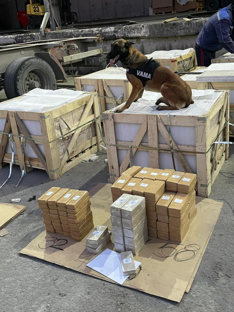 €45 million worth of heroin concealed in marble shipment seized in Romania