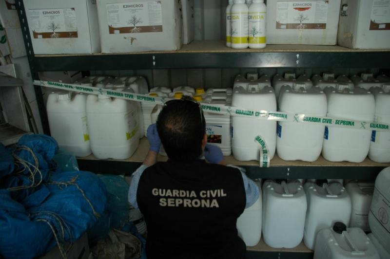 Pesticides worth up to € 80 million in criminal profits seized during operation Silver Axe VI