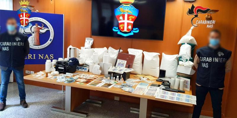 Medicines and doping substances worth €73 million seized in Europe-wide operation