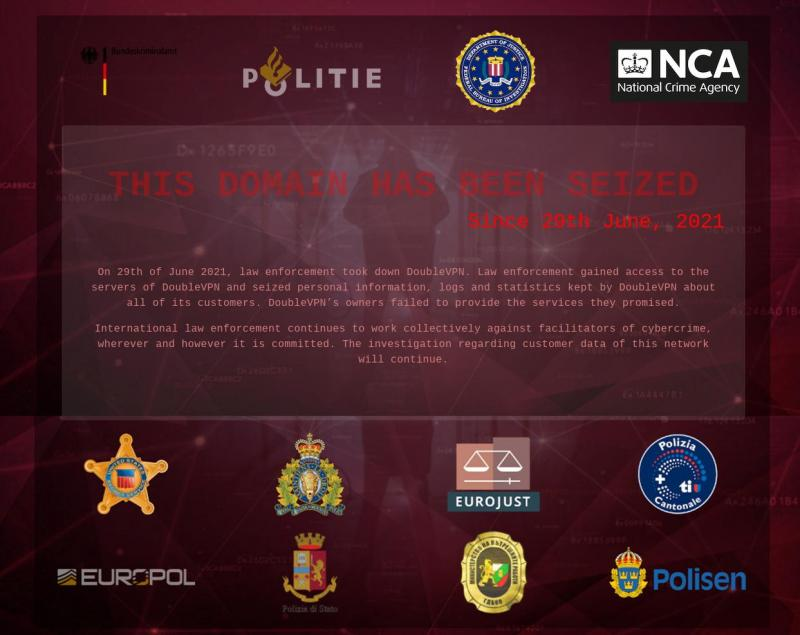 Coordinated action cuts off access to VPN service used by ransomware groups