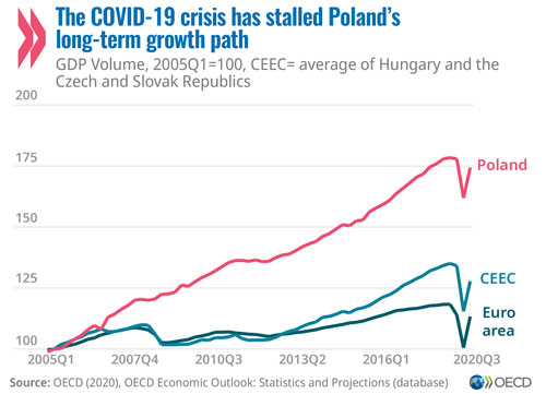 Economy: Poland would strengthen recovery from COVID-19 crisis by investing in a greener, fairer economy
